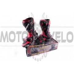Ботинки PROBIKER (mod:1003, size:44, красные)