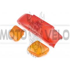 Стекло стоп-сигнала и поворотов   Honda LEAD 90   KOMATCU, шт
