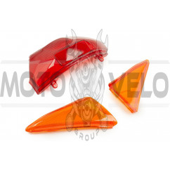 Стекло стоп-сигнала и поворотов Honda LEAD AF48 KOMATCU