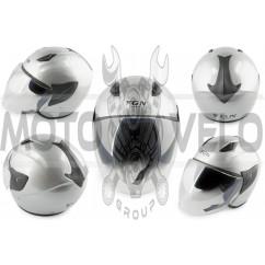 Шлем открытый (mod:601) (size:L, серый) FGN