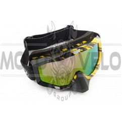 Очки кроссовые (mod:M-81A8, прозрачное стекло)
