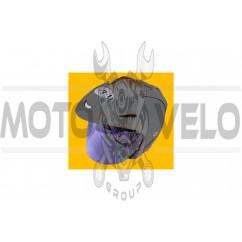 Шлем открытый (mod:370) (size:M, серый) (Тайвань) VR-1 (#VL)