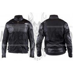 Мотокуртка SCOYCO (текстиль) (size:XL, черная, mod:JK)