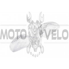 Стекло поворотов зад (пара) Zongshen WIND (прозрачное) KOMATCU