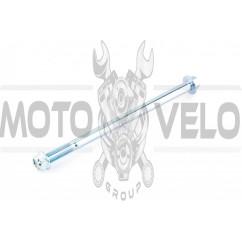Ось колеса переднего Delta (L-180mm, D-10mm) ZUNA