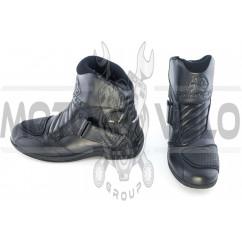 Ботинки SCOYCO (черные с липучкой, size:41)