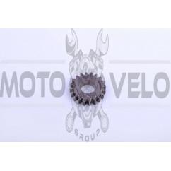 Шестерня кикстартера (ведомая) 4T GY6 125/150 MANLE