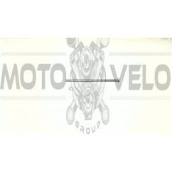 Ось колеса переднего   Delta   (L-180mm, D-10mm)   KOMATCU   (mod.A), шт