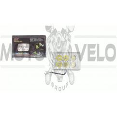 Фара светодиодная прямоугольная (крепеж 160mm, 6 диодов + подсветка) 4T CB/CG PLT