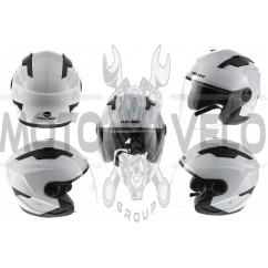 Шлем открытый   (mod:DH958) (size:M, белый)   HELMO, шт
