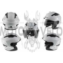 Шлем открытый   (mod:DH958) (size:XL, белый)   HELMO, шт