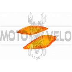 Стекло поворотов перед (пара) Suzuki LETS 1 KOMATCU