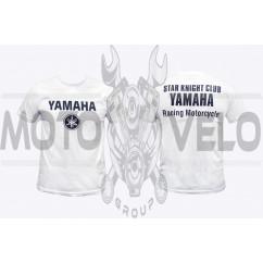 Футболка (size:M, mod:Club, 100% хлопок, белая) YMH