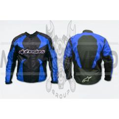 Мотокуртка ALPINESTARS (текстиль) (size:L, синяя)