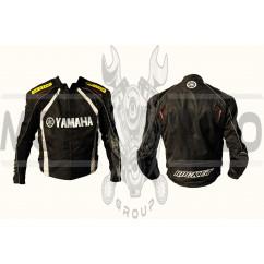 Мотокуртка YMH (текстиль) (mod:1, size:L, черная)