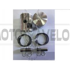 Поршень ЯВА 6v 6р (+кольца поршневые, стопорные) (пара) EVO