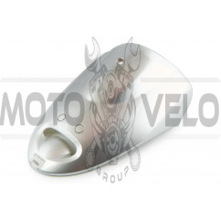 Пластик Zongshen WIND передний (клюв) (серый)
