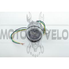 Тахометр выносной универсальный (цифровой, хром) (mod:MY-170)
