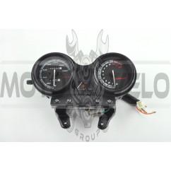 Панель приборов (в сборе) Yamaha YBR 125 (140км/ч, тахометр, черная) (#MY-127)