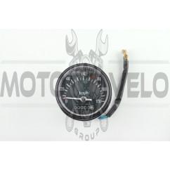 Панель приборов универсальная (120 км/ч, черная, индикатор зажигания, нейтрали) (mod:MY-010)