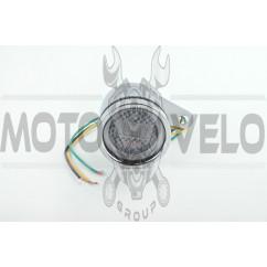 Тахометр выносной универсальный (цифровой, хром) (mod:MY-223)