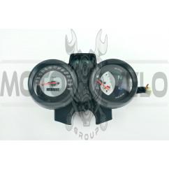 Панель приборов (в сборе) Yamaha YBR 125 (140км/ч, черная) (mod:MY-062)
