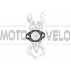 Прокладка глушителя Suzuki AD50 (mod:A, паронитовая) SHANGZHI