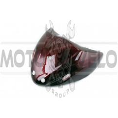 Пластик Active передний (клюв) (красный) KOMATCU