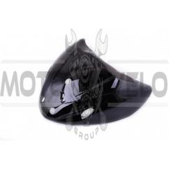 Пластик Active передний (клюв) (черный) KOMATCU