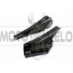 Пластик Active боковая пара на бардачок (черный) KOMATCU