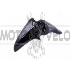 Пластик Active переднее крыло (черный) KOMATCU
