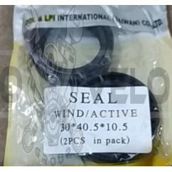 Сальники вилки   VIND, ACTIVE   (пара) (30*40.5*10.5mm)   PLT
