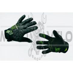 Перчатки FOX (mod:Monster energy, size:M, черные)