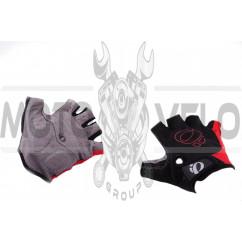 Перчатки без пальцев (mod:1, size:XL, черно-красные) IP
