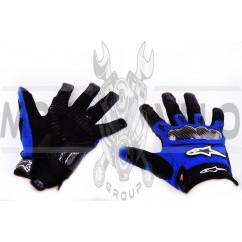 Перчатки ALPINESTARS (mod:2, size:L, синие)