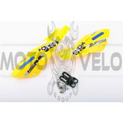 Защита рук на руль (mod:4, GLOVES, желтые) XJB