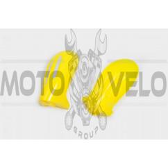 Защита рук на руль (mod:2, GLOVES, желтые) XJB