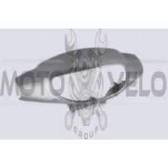 Пластик Zongshen WIND передний (голова) (серый) KOMATCU