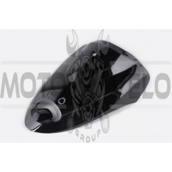 Пластик Zongshen WIND передний (клюв) (черный) KOMATCU