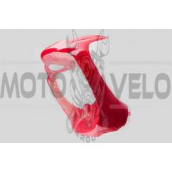 Пластик Zongshen WIND передний (подклювник) (красный) KOMATCU
