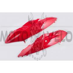 Пластик Zongshen WIND задняя боковая пара (красный) KOMATCU