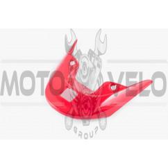 Пластик Zongshen WIND задний (спойлер) (красный) KOMATCU