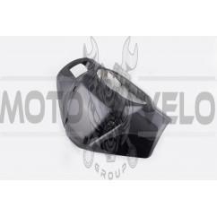 Пластик Zongshen RACE 1/3 передний (голова) (черный) KOMATCU