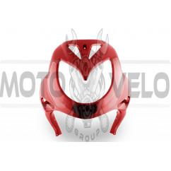 Пластик Zongshen RACE 3 передний (клюв) (красный) KOMATCU