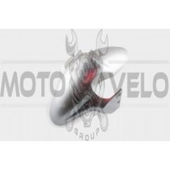 Пластик Zongshen RACE 2/4 передний (крыло) (серый) KOMATCU