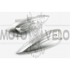 Пластик Zongshen RACE 2/4 задняя боковая пара (серый) KOMATCU