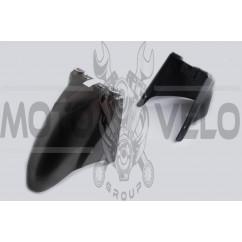 Пластик Zongshen WIND переднее крыло (серый) KOMATCU