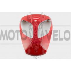 Пластик VIPER STORM 2007 передний (клюв) (красный) KOMATCU