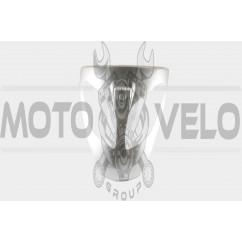 Пластик VIPER STORM 2007 передний (клюв) (серый) KOMATCU