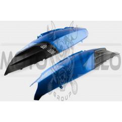 Пластик VIPER STORM 2007 задняя боковая пара (синий) KOMATCU